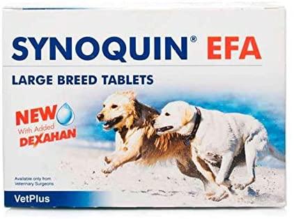 synoquin EFA, suplemento nutricional para las articulaciones de los perros con Omega 3