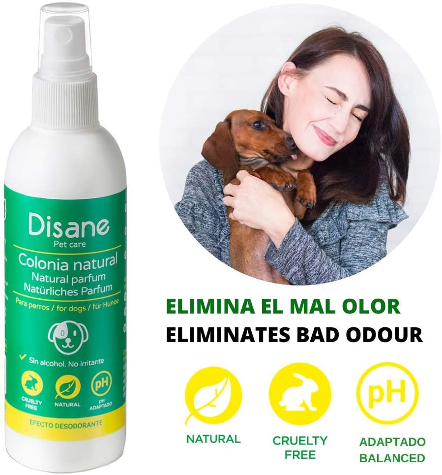 disane, colonia para perros natural, ph neutro