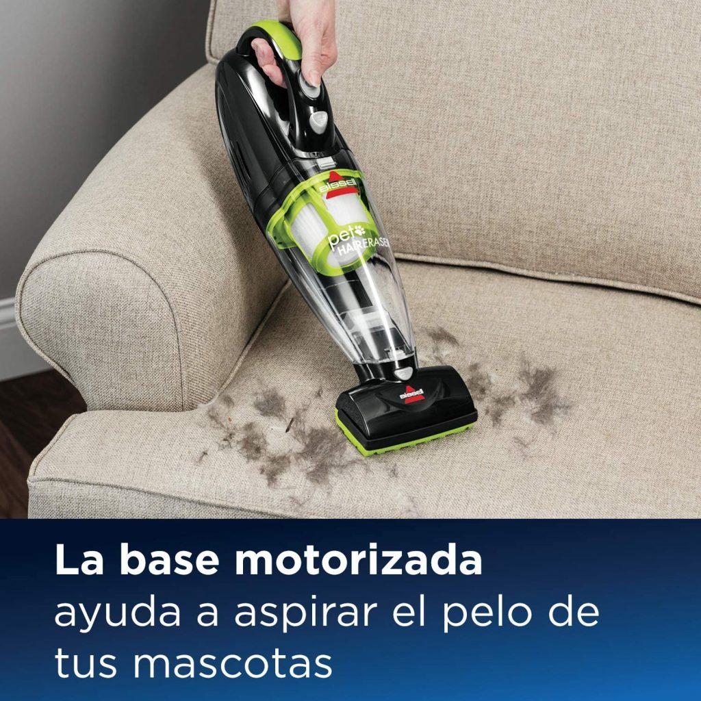 bissell aspiradora de mano con cepillo motorizado para pelo de mascotas
